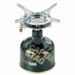 画像1: オーリック 小型ガスバーナーコンロ〈圧電点火装置付〉(ケース付)M-7900